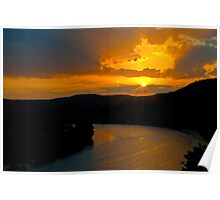 An Austin West Lake Sunset Poster