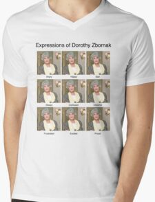Dorothy Zbornak Mens V-Neck T-Shirt