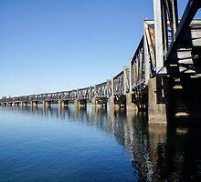rail bridge by Anne Scantlebury