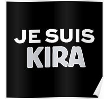 Je Suis Kira - Death Note Poster