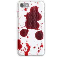 Blood Spatter Knife Drip iPhone Case/Skin
