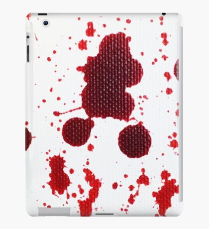 Blood Spatter Knife Drip iPad Case/Skin