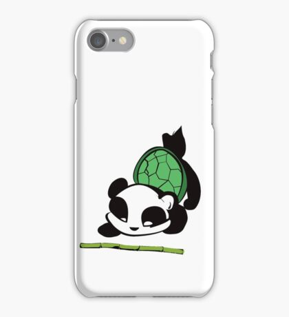 James the Turtle Panda iPhone Case/Skin