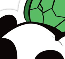 James the Turtle Panda Sticker