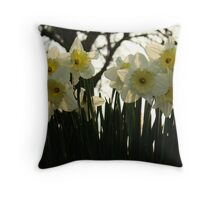"""Skelton Village Green - Daffs"" Throw Pillow"