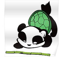 James the Turtle Panda Poster