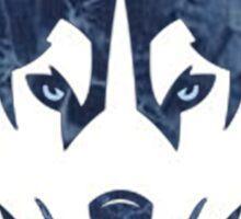 Uconn Grunge Logo Sticker