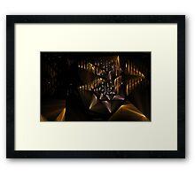 Spiral Bows Framed Print