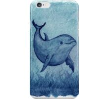 Inshore Dolphin Watercolor iPhone Case/Skin