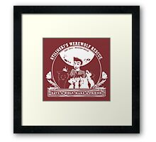 Stilinski's Werewolf Rescue Framed Print