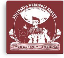 Stilinski's Werewolf Rescue Canvas Print