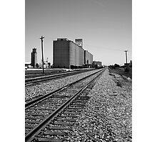 Grain Elevator #1 Photographic Print