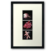 Eye Heart U Framed Print