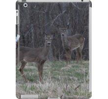 White Tail Deer iPad Case/Skin
