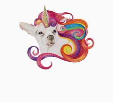 Rainbow Chihuacorn Womens Fitted T-Shirt