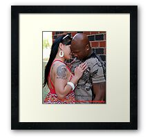 Come Here you! Framed Print