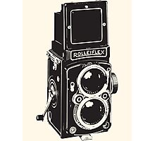 Camera: Rolleiflex Photographic Print