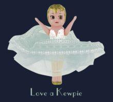 Love a Kewpie - Mint Green Kids Tee