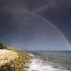 Rainbow over Coromandel by Paul Mercer