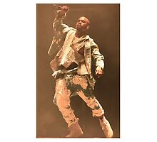 Kanye west glastonbury 2015 by karicarb