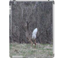 White Tail Deer run away iPad Case/Skin