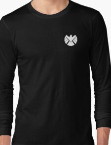 Agents of SHIELD (White) Long Sleeve T-Shirt