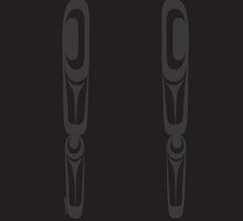 Formline Legs 4 by Lou-ann Neel