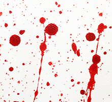 Blood Spatter 11 by jenbarker