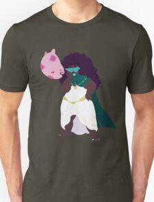 Psychic Anika Neem and her Pokemon Munna Unisex T-Shirt