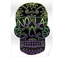 Nola Skull Poster