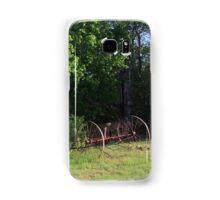 Paddock with Farming equipment Samsung Galaxy Case/Skin