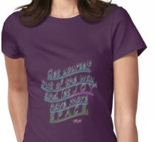 r1~ Create SPACE ~ ~ ~ Womens Fitted T-Shirt