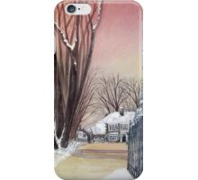 Bigger house Spout Hall iPhone Case/Skin