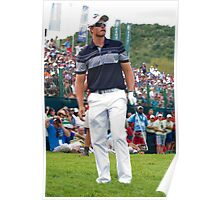 Henrik Stenson Chipping the Ball - NGC2009 Poster