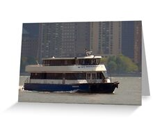 My ship's coming in, Jersey City, NJ Greeting Card