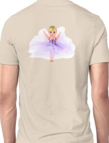 Lavender Kewpie Love Unisex T-Shirt