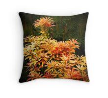 shrubs Throw Pillow