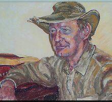 The Good Aussie Battler by scallyart