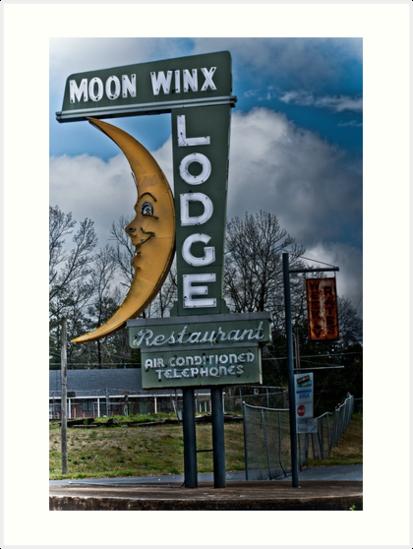 moon winx lodge by Phillip M. Burrow