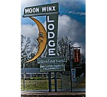moon winx lodge Photographic Print