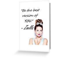 Zoella - Be YOU Greeting Card