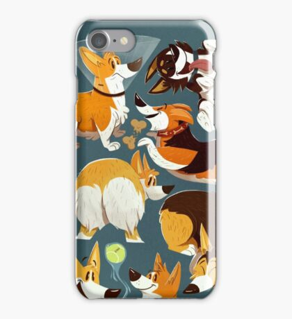 Corgi Collage! iPhone Case/Skin