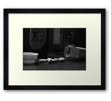 Pills Framed Print