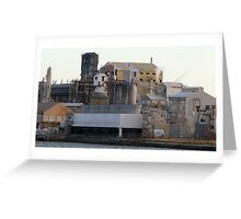 Industry at Port Adelaide. Greeting Card