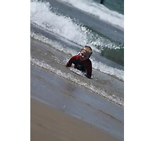 Junior Bodysurfer... Photographic Print