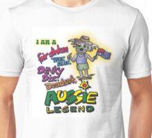 Fair Dinkum ,True Blue, Dinky Die, Aussie Legend - Koala Shirt  Unisex T-Shirt