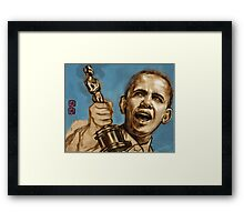 and the best actor award goes to..... (work in progress)  [politically corrected series] Framed Print