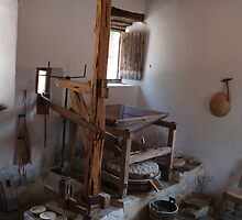 Mission San Jose Grist Mill by littlefishtale