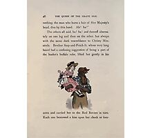 The Queen of Pirate Isle Bret Harte, Edmund Evans, Kate Greenaway 1886 0050 Pirate Carry Photographic Print