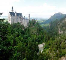 Neuschwanstein Castle by katiekat13